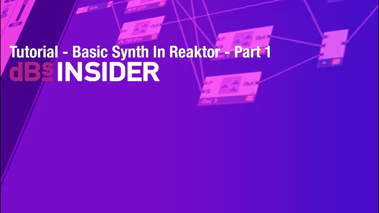 reaktor polyphonic synth