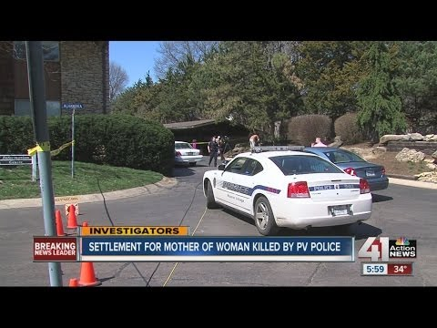 Settlement for mother of woman killed by Prairie Village police