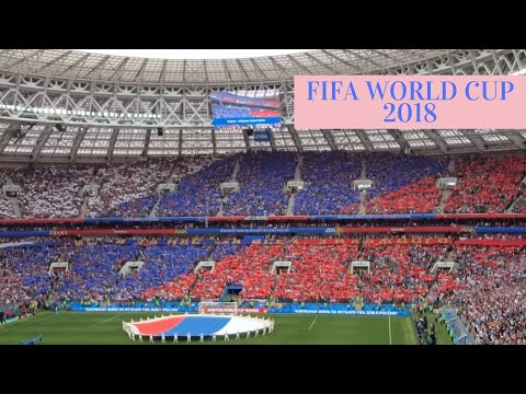Russia national anthem FIFA World Cup 2018 национальный гимн Ро��ии (Fan Cam)