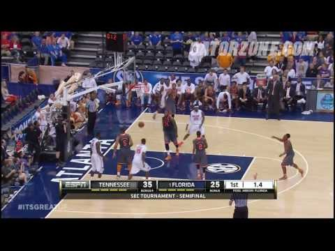 Florida Basketball: SEC Tournament Semifinal Highlights 3-15-14