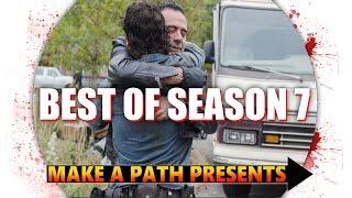 TOP 3 BEST EPISODES of The Walking Dead Season 7