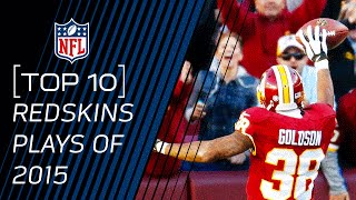 Top 10 Redskins Plays of 2015   #TopTenTuesdays   NFL