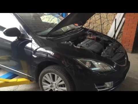 Как заменить лампу фары на Мазда 6  2007 год  Mazda 6
