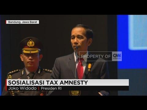 Live Report: Serius Tapi Santai, Jokowi Jelaskan Tax Amnesty Di Bandung