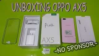 UNBOXING OPPO AX5 (MIRIP BANGET SAMA IPHO**) - HeniView
