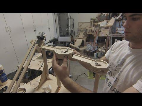 Mini Golf Marble Machine Build, Part 1 (How To Make A Mini Golf Hole)