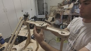 Mini Golf Marble Machine Build, Part 1 (How to make a mini golf hole)