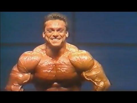 Rich Gaspari Mr. Olympia 1987 Posing
