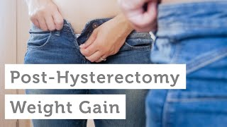 How To Lose Weight After Partial Hysterectomy