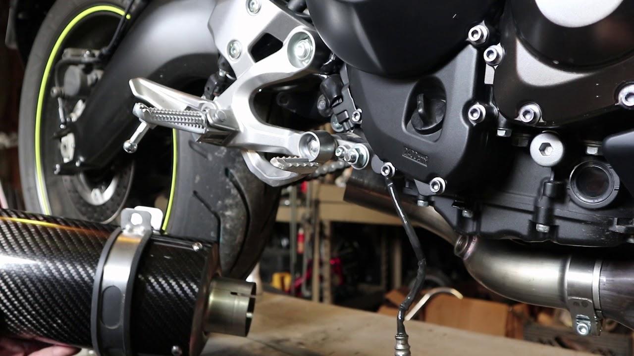 Fuel Moto FZ-09 E-Series Slip-On Kit