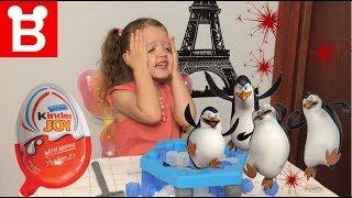 """Играем с мамой в игру """"Пингвин в ледяной ловушке""""challenge"""