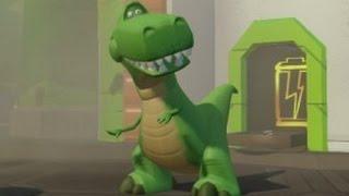 Disney Infinity - Toy Story Playset Walkthrough Part 8 - Jetpack Waterfalls