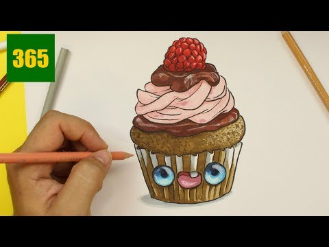 Cupcake Kawaii Dessin