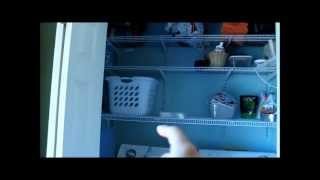 Laundry Room (closet) Tour And Organization :: Veda #02