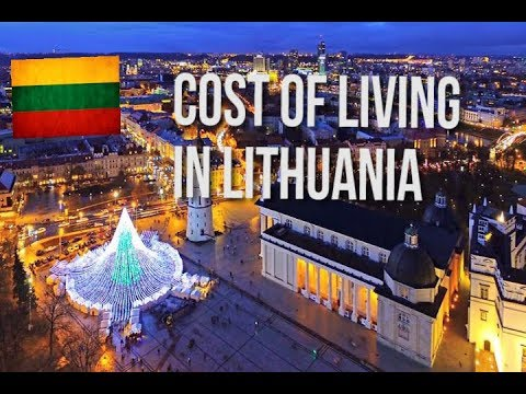 COST OF LIVING IN LITHUANIA (ENGLISH SUBTITLES)