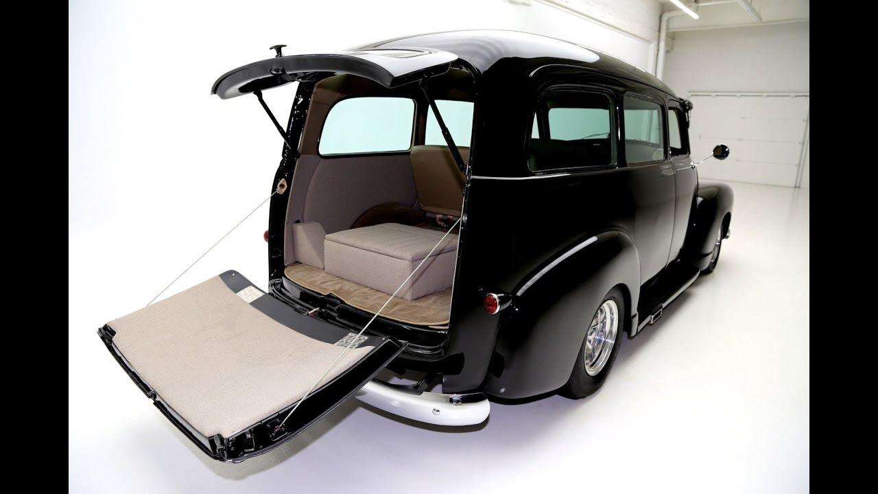 1951 Chevrolet Suburban - Black Pro Tour - YouTube