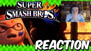Reaction - Super Smash Bros 5 / Switch Trailer - SMASH HYPE IS BACK!!!