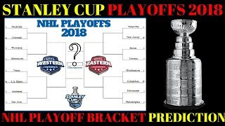 Stanley Cup Playoffs 2018 Preview - NHL Playoff Bracket Predictions