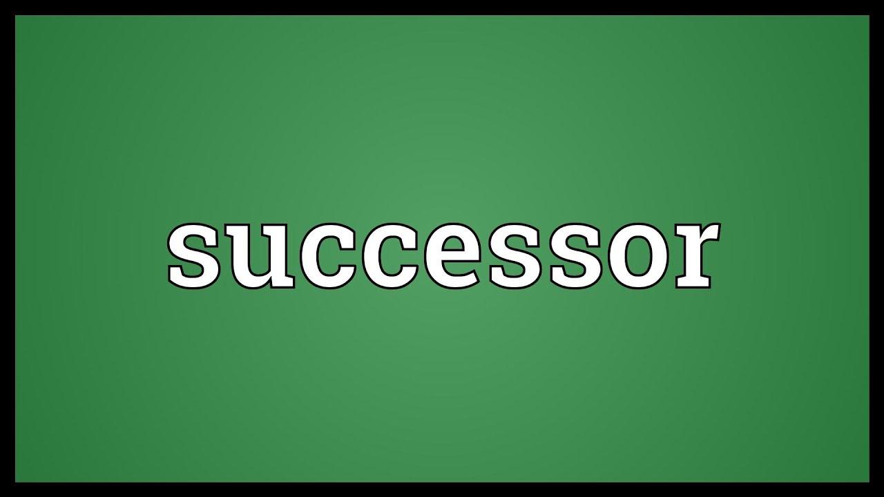 Successor Meaning