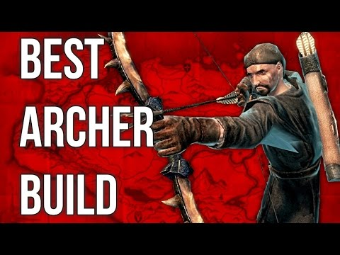 Best Archer Build - The Dragon Hunter - Skyrim Builds