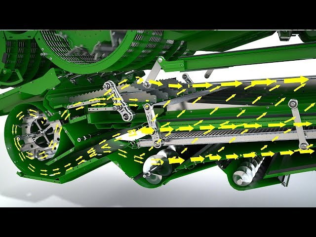 John Deere DynaFlo Plus Cleaning Animation