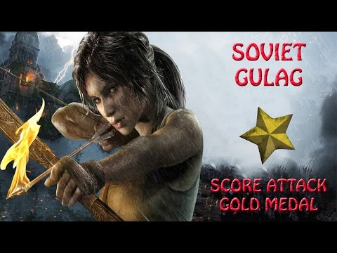 Rise Of The Tomb Raider  - Soviet Gulag - Score Attack Gold Medal (HD)