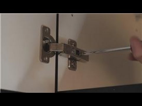 Adjusting Cup Hinges And Doors Do It Yourself With Het