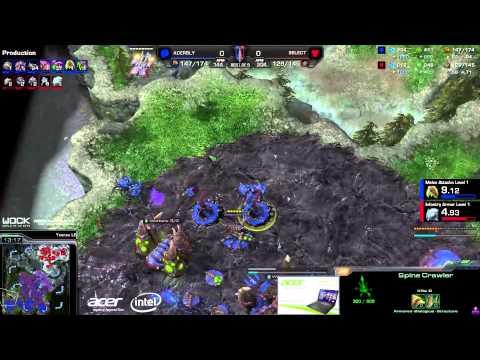 SeleCT vs. Bly (ATC) - Acer vs. coLDignitas - Game 1 - StarCraft 2