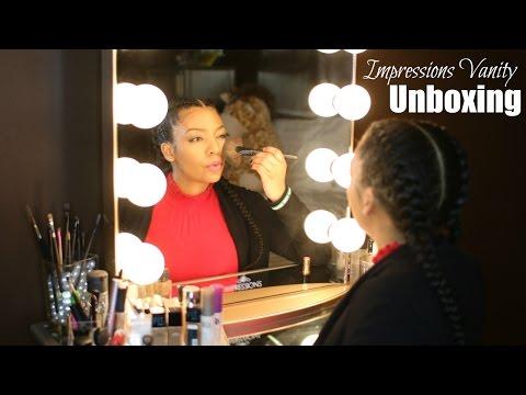 Impressions Vanity Mirror  Unboxing
