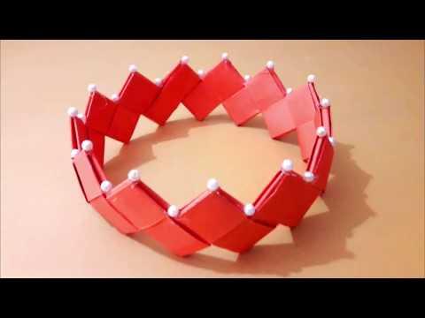 পহেলা বৈশাখে বানিয়ে নিন কাগজের মুকুট | Pohela Boishakh | DIY Paper Craft : Crown