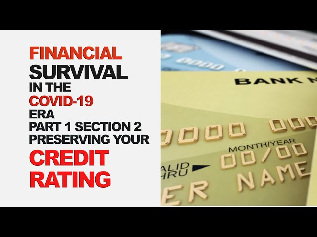 Preserving Your Credit Rating in the COVID-19 Era | Part 1, Section 2