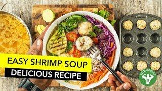 Healthy Shrimp Meatballs Soup Recipe