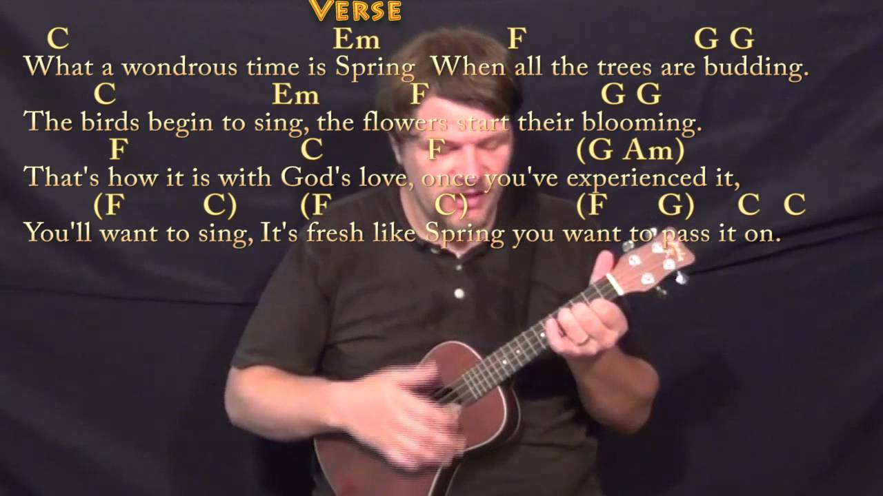 Pass it on it only takes a spark ukulele cover lesson with pass it on it only takes a spark ukulele cover lesson with chordslyrics hexwebz Image collections