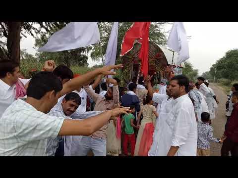श्री बूढा जी महाराज की छठी विशाल पदयात्रा करड व भटेसरो की ढाणी से लोहराणा के लिए