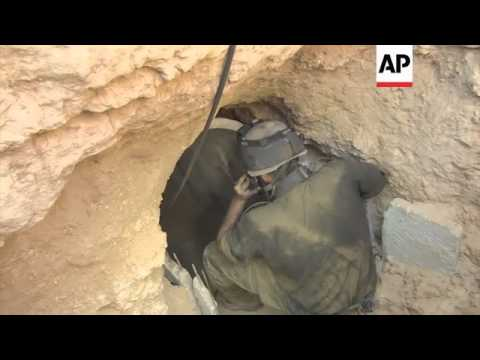 Reax as military find tunnel dug out from Gaza Strip into Israel