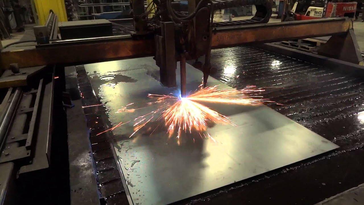 10 X 20 Plasma Table W Hypertherm Max 200 Cutting