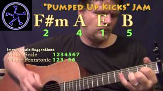 Pumped Up Kicks Jam - 2415 in E Major - Acoustic Guitar Instrumental