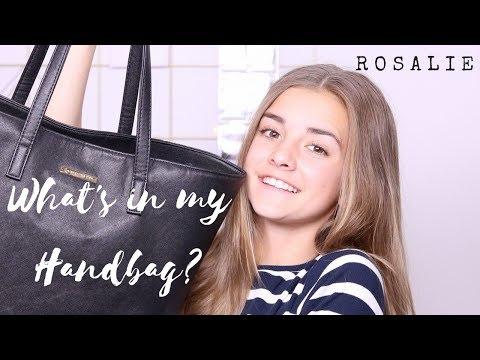 What's in my Handbag? | R O S A L I E