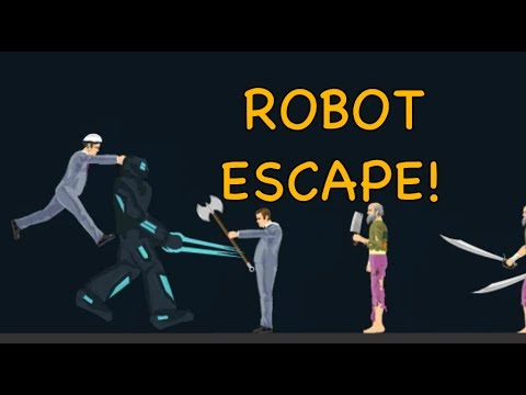 Windows10up.com Download Free ROBOT ESCAPE! [HAPPY WHEELS MADNESS!] - YouTube