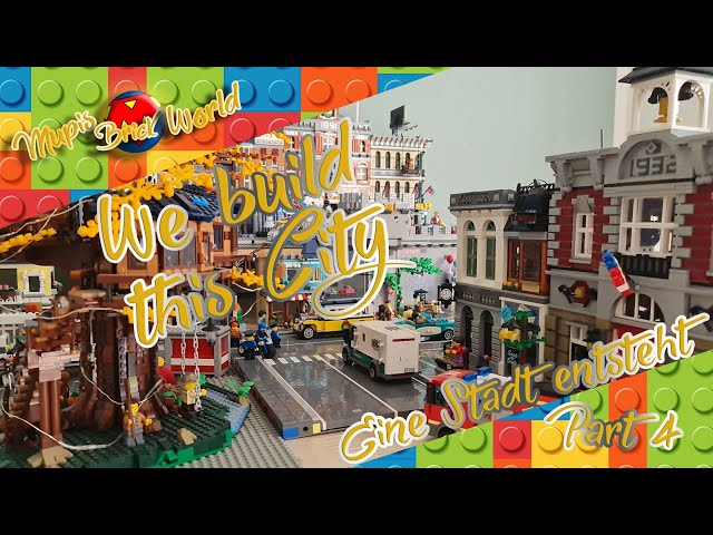 Lego City bauen - Lego Stadt Teil 4 - Another #LEGO Brick in the wall