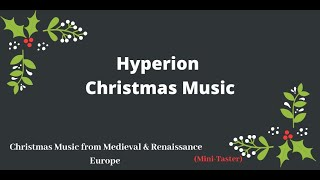 Christmas Music from Medieval and Renaissance Europe—The Sixteen