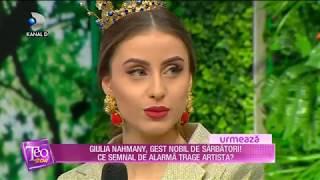 Teo Show (22.12.2017) - Iuliana Doroftei, la 19 ani, una dintre cele mai stilate femei! Partea II