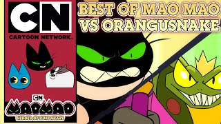 MaoMao: Heroes of Pure Heart | Best of Mao Mao vs Orangusnake | Cartoon Network UK