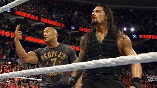WWE Royal Rumble 2015 - The Rock Returns