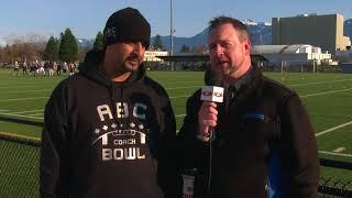 Live from ABC Border Bowl | VBN's Warren Andrews Interviews Khul Sanghera - BC Current Stars
