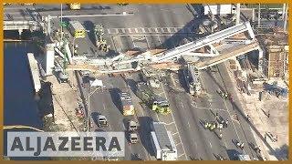 🇺🇸 Florida: Pedestrian bridge collapse kills at least 4 | Al Jazeera English