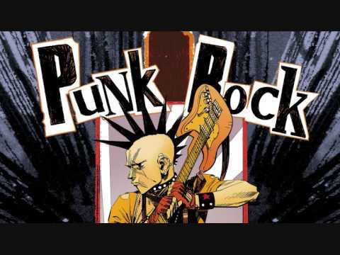 Punk Rock guitar Backing track in D#