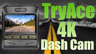 TryAce 4K UHD WiFi Car Dash Cam : Installation + Review !