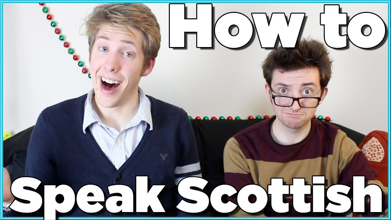 Accent Make How To A Scottish