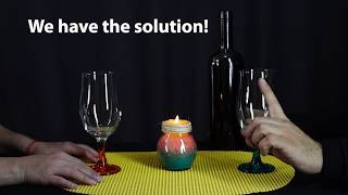 How to Open Wines without Take Out Cork- HomeArtTv by Juan Gonzalo Angel
